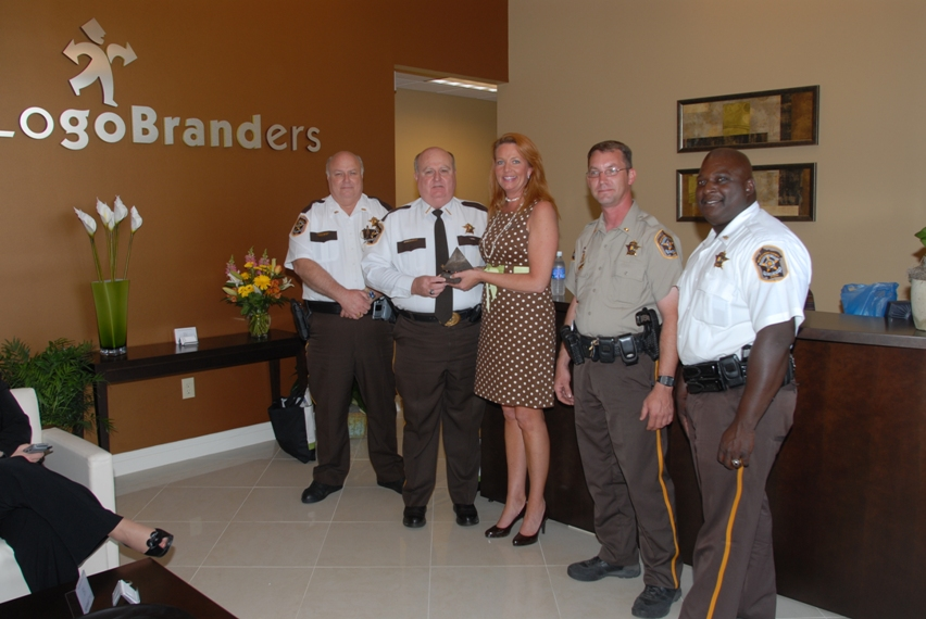 18 Pyramid Award for Sheriff's Campaign